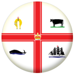 Melbourne Flag 25mm Button Badge